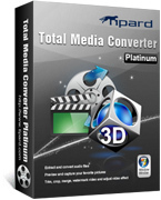 Tipard Total Media Converter Platinum – 15% Off