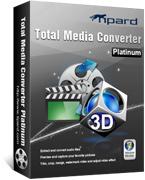 Tipard Total Media Converter Platinum – 15% Off