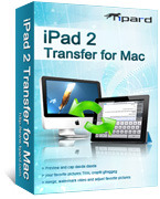 Tipard iPad 2 Transfer for Mac Coupon