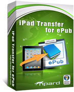 Tipard iPad Transfer for ePub Coupon 15%