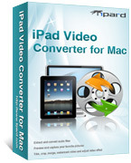 Tipard iPad Video Converter for Mac Coupons