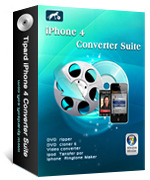 Tipard iPhone 4 Converter Suite Coupon