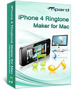 Tipard iPhone 4 Ringtone Maker for Mac – Exclusive 15% off Discount