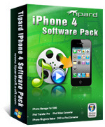 Tipard iPhone 4 Software Pack – Exclusive 15% Coupon