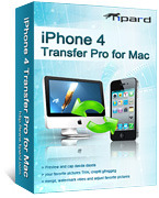 Tipard iPhone 4 Transfer Pro for Mac Coupon Code