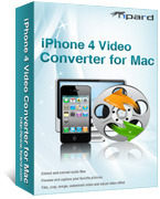 Tipard iPhone 4 Video Converter for Mac Coupon