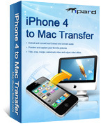 Exclusive Tipard iPhone 4 to Mac Transfer Coupon Discount