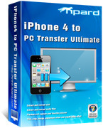 Tipard iPhone 4 to PC Transfer Ultimate Coupon