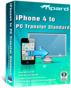 Tipard iPhone 4 to PC Transfer Coupon 15%