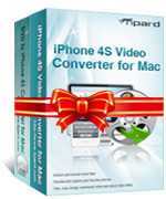 Tipard iPhone 4S Converter Suite for Mac Coupon