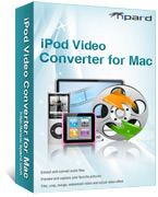 Tipard iPod Video Converter for Mac Coupon 15% Off