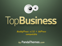 Panda Themes – TopBusiness WordPress and BuddyPress theme – Regular Licence Coupon Code
