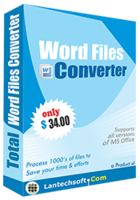 Total Word Files Converter Coupon