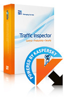 Traffic Inspector+Traffic Inspector Anti-Virus powered by Kaspersky (1 Year) Gold 15 Coupon