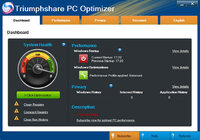 Beijing Tianyu Software Development Services Ltd Invensys Triumphshare PC Optimizer – 10 PC Coupons