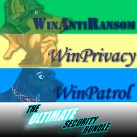 Ultimate Bundle 3 User License for WinPatrol WAR WinPatrol PLUS and WinPatrol Firewall w/ Annual Renewal Coupon
