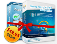 15% OFF – Video Download Capture + Streaming Audio Recorder Personal License