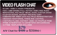 Amazing Video Flash Chat – Full Source Code Unlimited License Discount