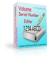 Volume Serial Number Editor UNLIMITED License Coupons 15% OFF
