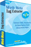 Secret Web Meta Tag Extractor Coupon