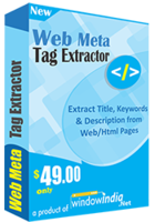 15% Off Web Meta Tag Extractor Coupon