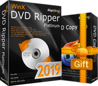 WinX DVD Ripper Platinum  (Lifetime License for 1 PC) – Exclusive Coupon