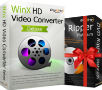 WinX HD Video Converter Deluxe  (Lifetime License for 1 PC) Coupon