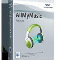 Wondershare AllMyMusic for Mac Coupon Code – 20%