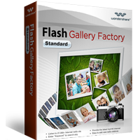 5% Off Wondershare Flash Gallery Factory Standard for Windows Coupon