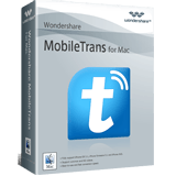 Exclusive Wondershare MobileTrans for Mac One Year License Coupon Discount