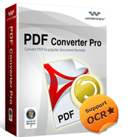 5% OFF Wondershare PDF Converter Pro for Windows Coupon