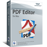 Exclusive Wondershare PDF Editor for Mac Coupon Sale