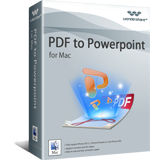 Wondershare Software Co. Ltd. – Wondershare PDF to PowerPoint Converter for Mac Coupon Deal