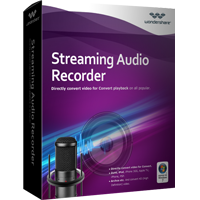 30% Wondershare Streaming Audio Recorder for Windows Coupon Code