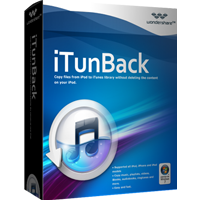 Wondershare iTunBack for Windows Coupon Code – 5%