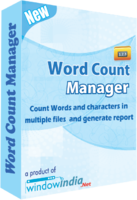 Exclusive Word Count Manager Coupon Sale