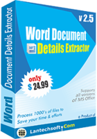 LantechSoft Word Document Details Extractor Coupon Sale