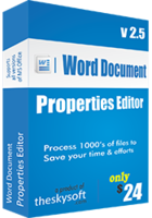 Word Document Properties Editor Coupon Code