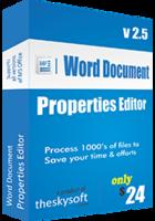 Word Document Properties Editor Coupon Code