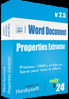 Word Document Properties Extractor Coupon