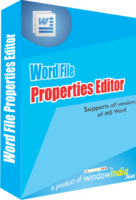 Exclusive Word File Properties Editor Coupon Code