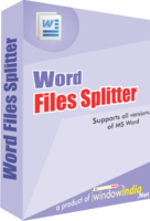 Exclusive Word Files Splitter Coupon Discount