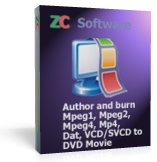 ZC Software ZC MPEG to DVD Burner Coupons