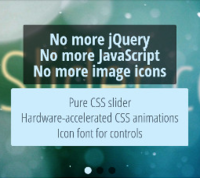 cssSlider – Pure CSS Slider –  No jQuery no JavaScript no coding! cssSlider.com Coupon Code 15% Off