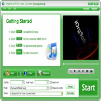 iOrgSoft DVD to iTunes Converter Coupon Code – 50%