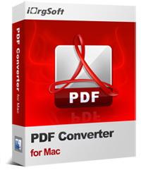 iOrgsoft PDF Converter for Mac Coupon – 40%