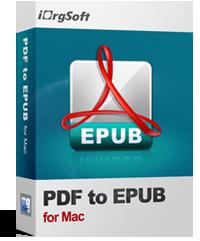 iOrgsoft PDF to Epub Converter for Mac Coupon – 50%