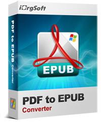 50% Off iOrgsoft PDF to Epub Converter Coupon