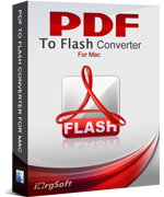 40% OFF iOrgsoft PDF to Flash Converter for Mac Coupon
