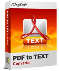 iOrgsoft PDF to Text Converter Coupon – 40%